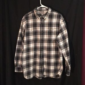 Men's XL Carhartt Relaxed Fit Button Down Shirt